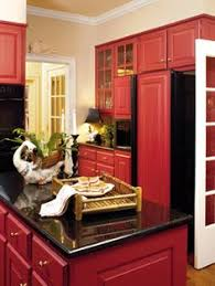 Red Kitchen With White Cabinets Bright Pink Kitchen Cabinets I Don U0027t Like The Black This Would