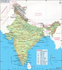 British India Map by India Map