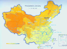 World Climate Map by China Climate Map Climate Map Of China Annual Precipitation And