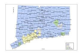 connecticut light and power csc transmission map with contacts for telcom industry