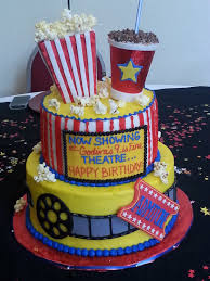 Cake Decoration Ideas At Home Interior Design Top Hollywood Theme Cake Decorations Best Home