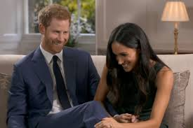 where does prince harry live meghan markle and harry goof off in engagement interview people com
