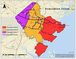 Route 95 Map by Evacuation Maps Chatham Emergency Management Agency