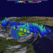 Caribbean Ocean Map by A Nasa Triple View Of Hurricane Franklin U0027s Fade Out Nasa