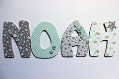 lettre chambre bébé decoration chambre bebe lettre en bois visuel 3