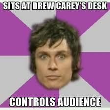 Meme Drew Carey - sits at drew carey s desk controls audience jeff davis meme
