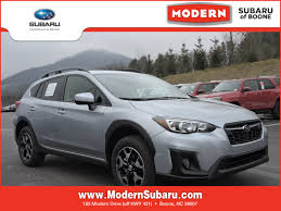 blue subaru crosstrek 2018 subaru crosstrek at modern subaru of boone lenoir