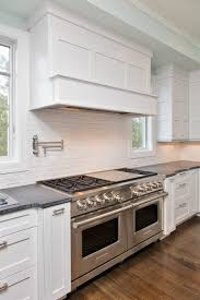 Transitional White Kitchen - white transitional kitchen mantoloking new jersey by design line