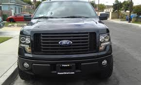 2012 ford f150 projector headlights recon smoked ccfl halo headlights installed page 3 ford