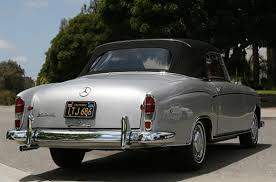 mercedes classic convertible 1960 mercedes benz 220 se convertible by classic showcase