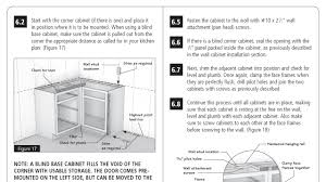 cabinet installation instructions u0026 step by step guides