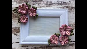 dicorate how to decorate a picture frame with flowers como decorar tu