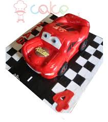 car cake 3d mcqueen car cake square chennai