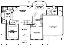 Colonial Floor Plans Southern Cottage Floor Plans Home Decorating Interior Design