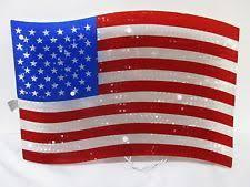 lighted american flag ebay