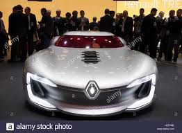 renault supercar world premiere of renault trezor concept electric supercar at