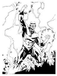 Jla Black Lightning Robert Atkins Art