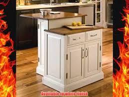home styles 5010 94 woodbridge 2 tier kitchen island white finish