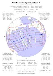 Map Of Canada And Usa by 2002 June 10 Eclipse From Canada