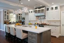 grey kitchen island grey kitchen island transitional kitchen kitchens by eileen