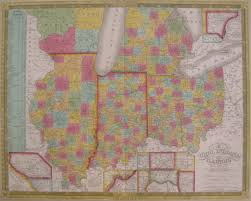 Map Of Illinois And Indiana by Antique Maps Of Illinois