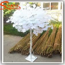 cheap artificial wedding wishing tree plastic white trees