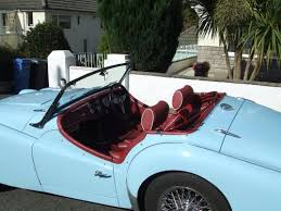 Triumph Tr3 Interior Classic Chrome Triumph Tr3 A 1958 N A Powder Blue