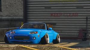 widebody miata mazda mx 5 widebody gta5 mods com