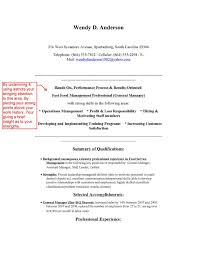 Resume Sample Restaurant by Resume Restaurant Manager Resume Sample