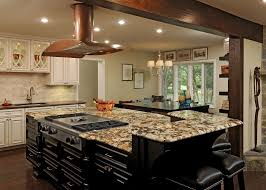kitchen island with seating for 6 grey tile pattern ceramic