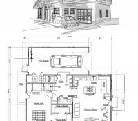 small mountain cabin floor plans free log cabin floor plans for cabins 16x34 with loft plus 6x34