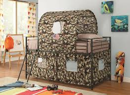 Camouflage Bedroom Set Amazon Com Camouflage Tent Loft Bed Kitchen U0026 Dining