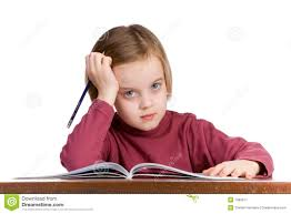 Kid At Desk by Student At A School Desk Royalty Free Stock Photography Image