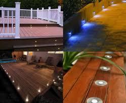 Recessed Deck Lighting Led Deck U0026 Step Light Low Voltage Lighting