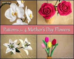 Mother S Day Flower Crochet Patterns Bundle Mother U0027s Day Flowers Crochet