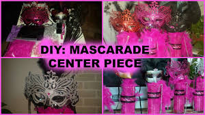 Where To Buy Ostrich Feathers For Centerpieces by Diy How To Make A Masquerade Centerpiece Youtube