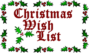 christmas wish list how d last year s christmas wish list work out anyway the