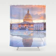 Dc Shower Curtain Cityscape Shower Curtains Society6
