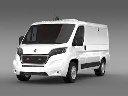 peugeot models peugeot boxer collection services 2017 3d model cgtrader
