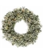 amazing deal 30 pre lit pine artificial wreath