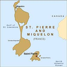 map of st and miquelon health information for travelers to and miquelon