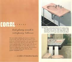 Eljer Bathtub Faucet Parts The Color Pink In Bathroom Sinks Tubs And Toilets From 1927