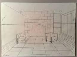 dessiner une chambre en perspective best dessiner une en perspective frontale images