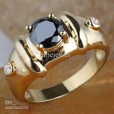 Anniversary Gifts For Men Engagement - man black onyx stone bamboo ring r115 gflm size 10 11 12 j8191