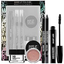 gift guide for the makeup junkie make up for ever all eyes on you set