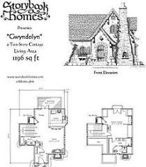 cottage blueprints fairytale cottage home plans homes floor plans