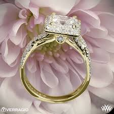 square style rings images Verragio square halo diamond engagement ring 1940 jpg