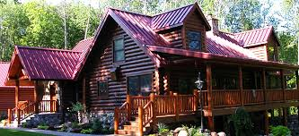 cabin home minnesota log homes for sale lakeplace com