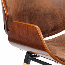 makika design office chair with backrest maxim in brown office