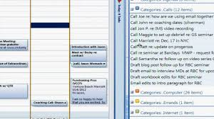 outlook 2007 dashboard calendar and tasks youtube